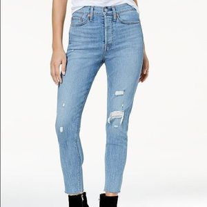 Levi's Wedgie fit jeans! New, with tags!